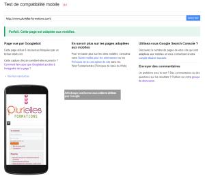 Site Joomla! compatible pour affichage mobile